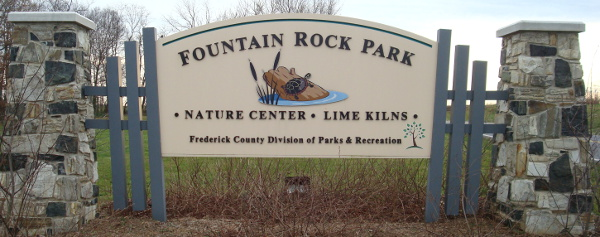 Entrance to Fountain Rock Park